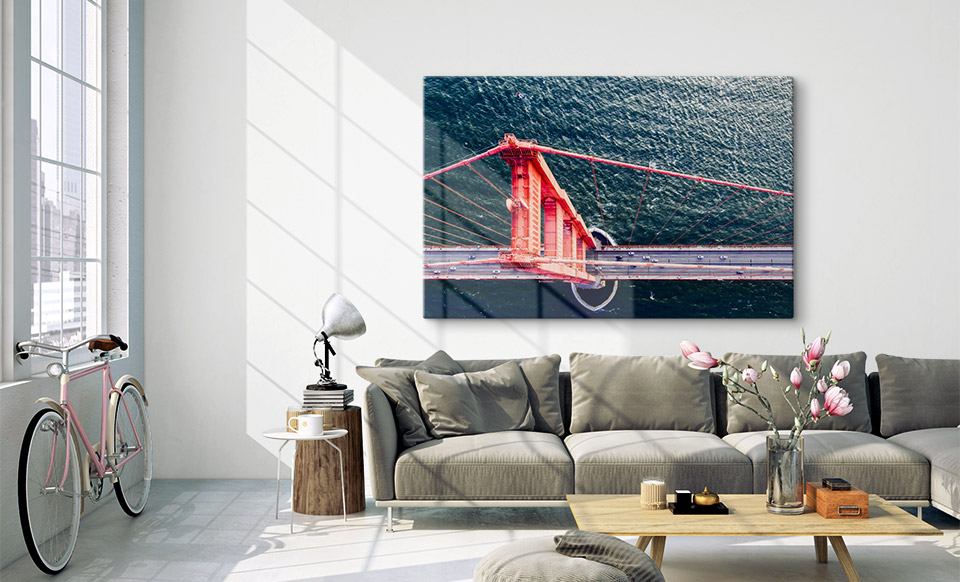 acrylic print wall