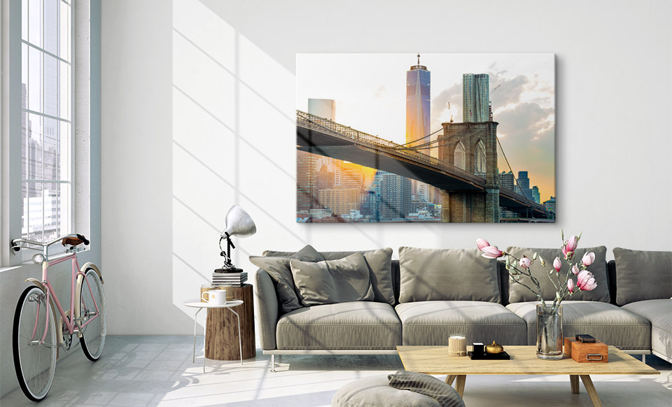 acrylic prints appartment