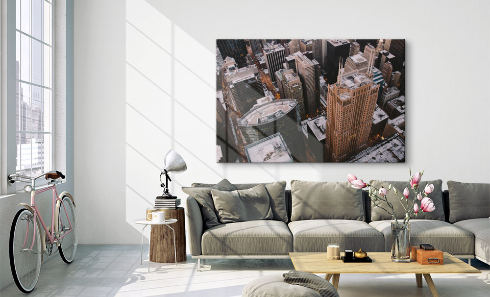 custom metal prints appartment