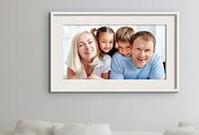 family poster living room