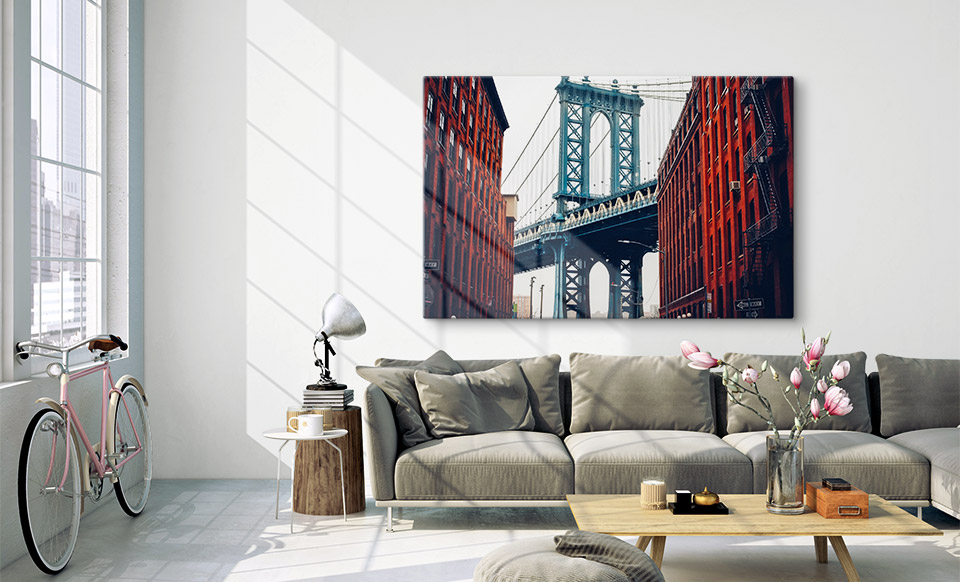 large acrylic prints appartment