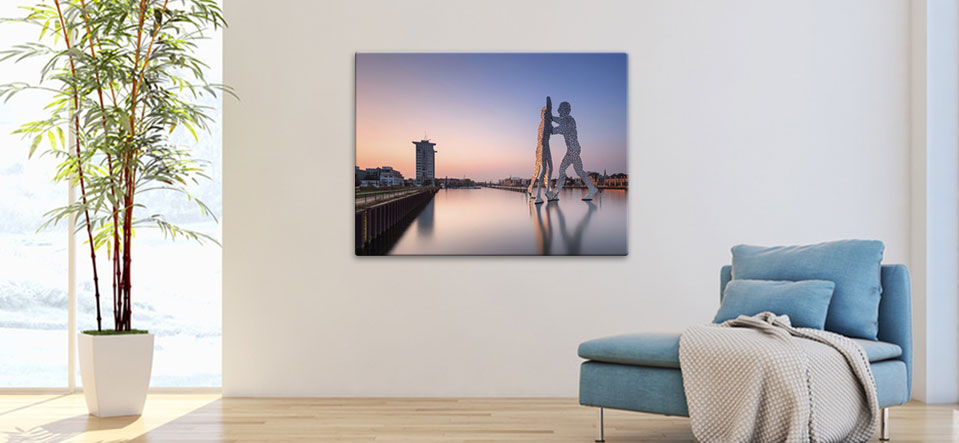 large metal prints appartement