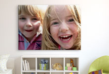 laughing children playroom acrylic glass