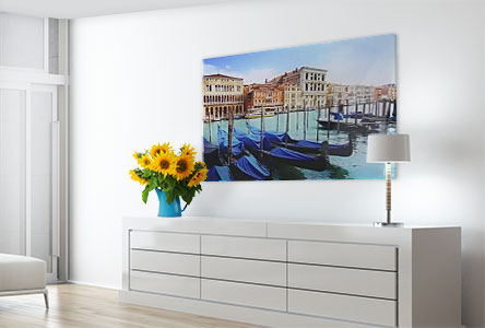 living room venice acrylic
