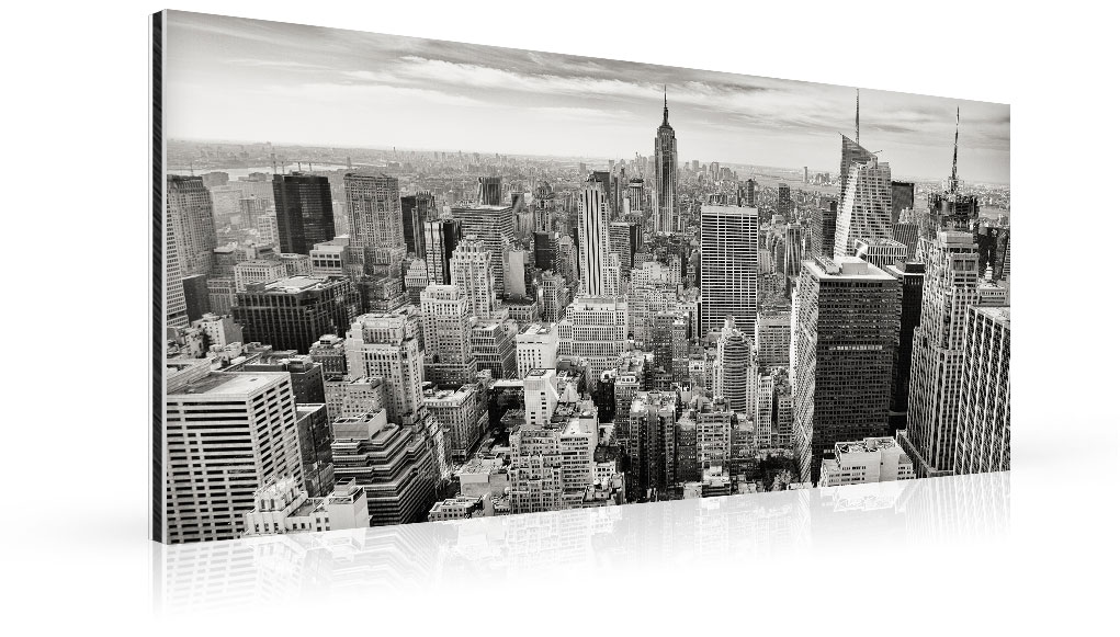 metal print panorama top