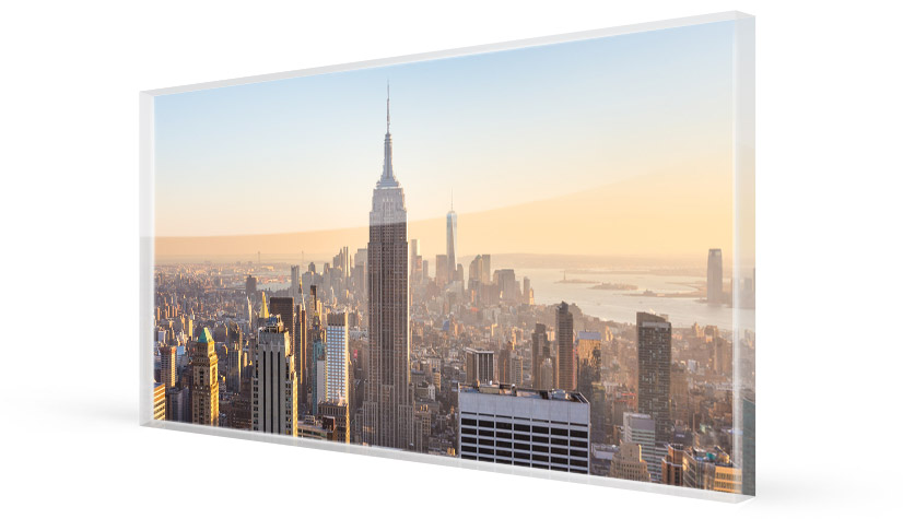 panoramic acrylic print