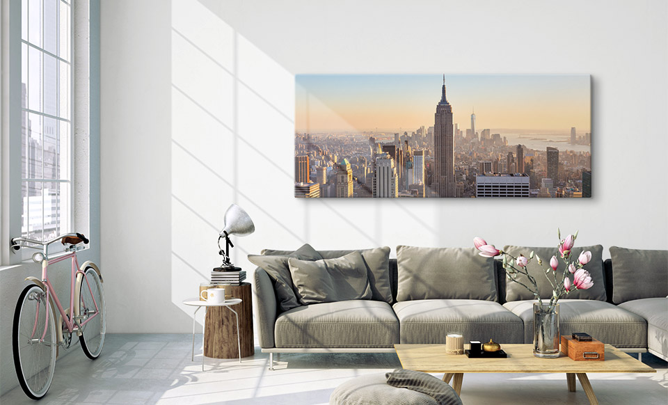 panoramic acrylic prints appartment